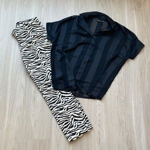 OUTFIT- Pattern Pants and Top